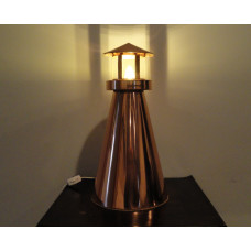 COPPER LIGHTHOUSE LAMP